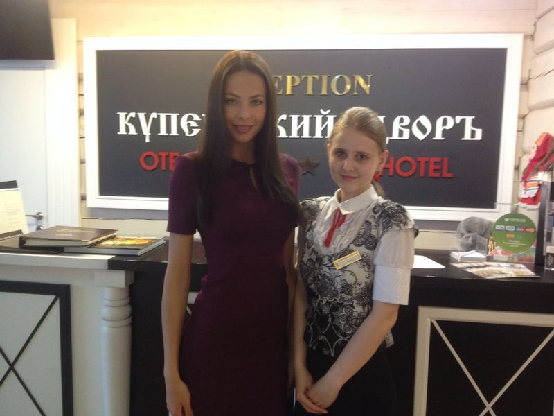 "Miss Russia 2014 Julia Alipova Took Part in a Charity Action ""Operation ""Smile"""""